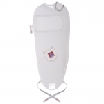 Puckababy The Original Piep Sleeping Bag - WHITE SILVER - 2013