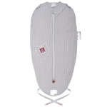 Puckababy The Original Mini Sleeping Bag - GREY DOT - 2013