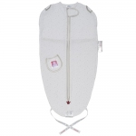 Puckababy The Original Mini Sleeping Bag - WHITE STAR - 2013