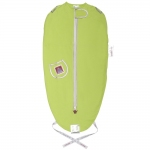 Puckababy The Original Mini Sleeping Bag - LIME SILVER - 2013