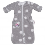 Puckababy The Bag Newborn Sleeping Bag - TEDDY GREY - 2013