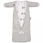 Puckababy The Bag 4 Seasons Sleeping Bag - GREY DOT - 2013