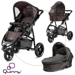 Quinny Speedi Pack incl. Carrycot - FAST BROWN  - 2015