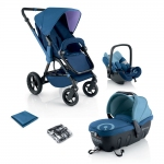 Concord Wanderer Travel Set - BLUE - 2013