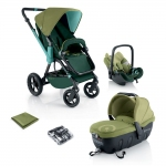 Concord Wanderer Travel Set - GREEN - 2013
