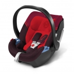 Cybex Aton 3 Gold Line - STRAWBERRY / DARK RED - 2014