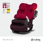 Cybex Pallas 2-Fix Gold Line - STRAWBERRY / DARK RED - 2014