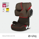 Cybex Solution X2-Fix Gold Line - MAHAGONY / BROWN - 2014