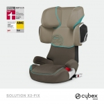 Cybex Solution X2-Fix Gold Line - DUNE / KHAKI BROWN - 2014