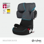 Cybex Solution X2-Fix Gold Line - BLACK RIVER / GREY - 2014