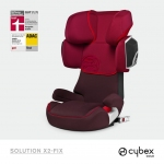 Cybex Solution X2-Fix Gold Line - STRAWBERRY / DARK RED - 2014