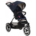 Phil&Teds Navigator 2 Inline Buggy - MIDNIGHT BLUE - 2014