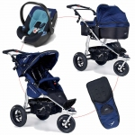 TFK Joggster Twist Facelift Travelset QuickFix with Aton 3 - BLAU / CLASSICBLUE - 2014