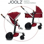 Joolz Day Earth combination buggy - LOBSTER RED Special Edition - 2014