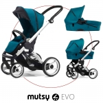 Mutsy EVO Multifunctionstroller incl. Carrycot - Standard / PACIFIC - 2014
