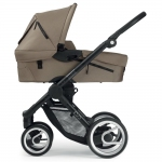 Mutsy EVO stroller incl. carrycot - Black / SAND - 2014