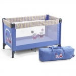 CHIC 4 BABY Travel Bed Luxus - HELLBLAU - 2014