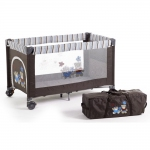 CHIC 4 BABY Travel Bed Luxus - TERRANOVA BRAUN - 2014