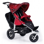 TFK Joggster Twist Duo Set mit Buddyseat - MOOSBEERE / CRANBERRY - 2015