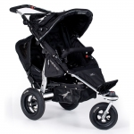 TFK Joggster Twist Duo Set mit Buddyseat - SCHWARZ / BLACK - 2015
