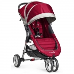 Baby Jogger City Mini 3-Rad - CRIMSON / GRAY - 2014