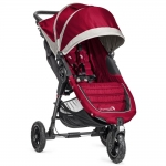 Baby Jogger City Mini GT - CRIMSON / GRAY - 2014