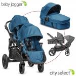Baby Jogger City Select Set mit Zweitsitz und 1 Wanne - TEAL - 2014