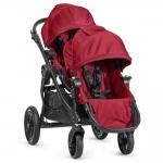 Baby Jogger City Select Zwillingswagen Set mit Zweitsitz - RED - 2014