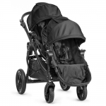 Baby Jogger City Select Zwillingswagen Set mit Zweitsitz - BLACK - 2014