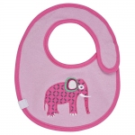 L�ssig Bib Small L�tzchen 0-6 Monate - Wildlife Elephant - 2014