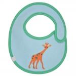 L�ssig Bib Small L�tzchen 0-6 Monate - Wildlife Giraffe - 2014