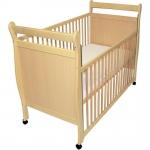 Fillikid Kinderbett Timmy Buche 120x60cm - NATUR