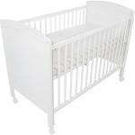 Fillikid Kinderbett Philipp Buche 120x60cm - WEISS