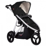 Phil&Teds Vibe Buggy 3-Rad - BLACK - 2015