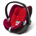 Cybex Aton Q Platinum - STRAWBERRY / DARK RED - 2014