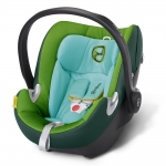 Cybex Aton Q Platinum, Isofix optional - HAWAII / GREEN - 2015