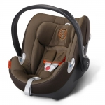 Cybex Aton Q Platinum, Isofix optional - COFFEE BEAN / BROWN - 2015