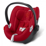 Cybex Aton Q Platinum, Isofix optional - HOT AND SPICY / RED - 2015
