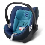 Cybex Aton Q Platinum, Isofix optional - TRUE BLUE / NAVY BLUE - 2015