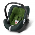 Cybex Aton Q Plus Platinum, Isofix optional - HAWAII / GREEN - 2015