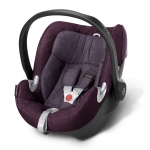 Cybex Aton Q Plus Platinum, Isofix optional - GRAPE JUICE / PURPLE - 2015