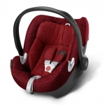 Cybex Aton Q Plus Platinum, Isofix optional - HOT AND SPICY / RED - 2015