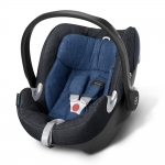 Cybex Aton Q Plus Platinum, Isofix optional - TRUE BLUE / NAVY BLUE - 2015