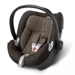 Cybex Aton Q Plus Platinum, Isofix optional - DESERT KHAKI / BROWN - 2015