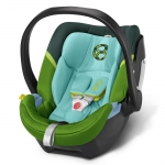 Cybex Aton 4 Gold, Isofix optional - HAWAII / GREEN - 2015