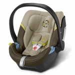Cybex Aton 4 Gold, Isofix optional - LIMESTONE / KHAKI - 2015