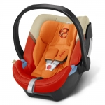 Cybex Aton 4 Gold, Isofix optional - AUTUMN GOLD / BURNT RED - 2015