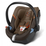 Cybex Aton 4 Gold, Isofix optional - COFFEE BEAN / BROWN - 2015