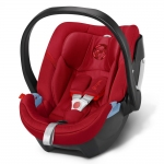Cybex Aton 4 Gold, Isofix optional - HOT AND SPICY / RED - 2015