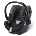 Cybex Aton 4 Gold, Isofix optional - BLACK SEA / BLACK BLUE - 2015
